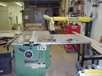 Woodworking shop closing down, selling all equipment