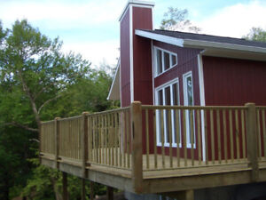 Cottage / house for rent lake side in the Laurentian area