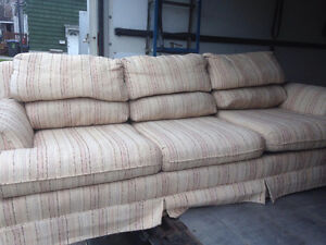 Couch clean comfortable pickup for $90. $120. to deliver in soo