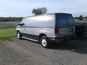 Used Ford Ecoline Cargo Van