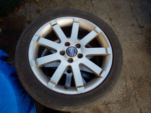 235 45 17 Michelin Pilot Sport A/S 3 on Volvo 17inch Rims