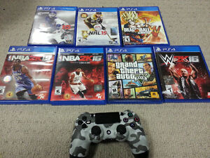 SELLING OFF A FEW OF MY PS4 GAMES AVAILABLE FOR BEST FAIR OFFERS