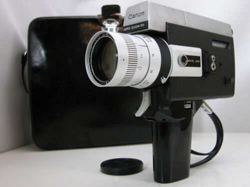 Tested and Working CANON SUPER 8 MOVIE CAMERA With Rare Slow Motion & Case