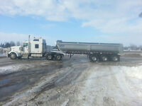 Truck and Trailer as unit