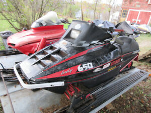 parting out 1991 polaris indy 650