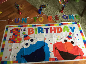 1 year old party supplies
