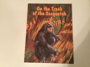 On the track of the Sasquatch by John Green