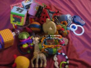 infant toys large lot