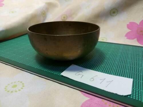 """2.638""""Japanese Buddhist Bell Zen Gong Rin G611 Good Sound  VTG"""