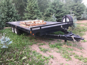 18ft DeckOver Trailer - 10,000lb