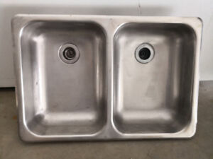Stainless Steel Medium Double Sink