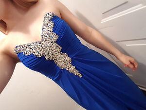 *Royal Blue Prom Dress*
