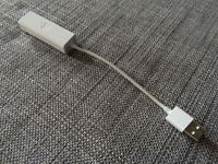 Apple USB Ethernet Adapter!