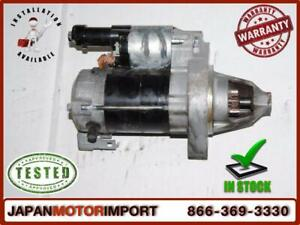 2006-2007 2008 2009 2010 2011 Honda Civic demarreur starter Automatique 1.8