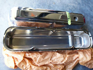 SB MOPAR 318 340 360 CHROME VALVE COVERS