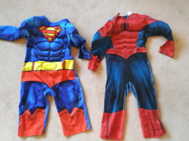 Spiderman superman outfit 2-3