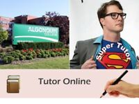 Algonquin Online Tutoring: Intro Accounting | Finance | Math