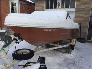 17' runabout new transom project boat