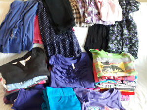 37 Pc. Girl's Mixed Clothing Size 10-12