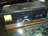 Nikon D3200 DSLR Camera with 18-55mm VR II Lens Kit.