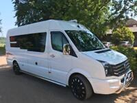 Volkswagen Crafter 4 Berth 2013 Rear Garage Rear Fixed Bed Campervan For Sale