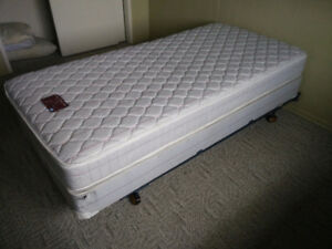 Two single twin beds
