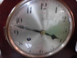Circa-1920's Junghans Wurttemberg Mantle Clock Cambridge Kitchener Area image 2