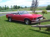 1969 Ford Mustang Cabriolet