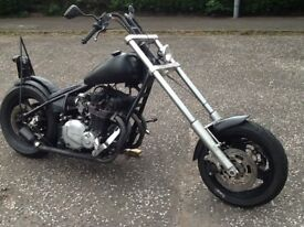 Hardtail chopper. For sale or swap