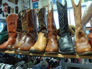 Cowboy Boots /mens and womens/ and Hats