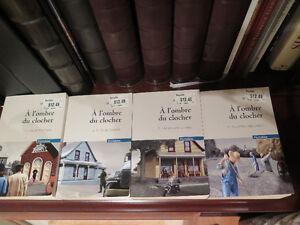 4 tomes - À l'ombre du clocher