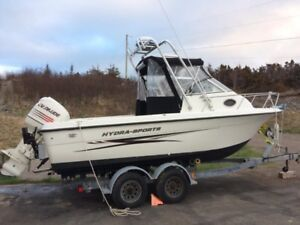 2003 Hydra Sports 212 w/a with 2004 200HP Evinrude!