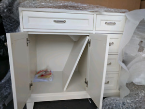 *Brand New* Pottery Barn Bathroom Vanity 36 in. with marble top