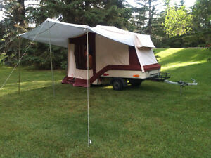 Combi-Camp Nightrider Motorcycle tent trailer