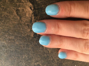Pose d'ongles professionnel