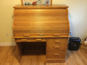 For sale, Roll top computer desk