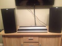 Bang and Olufsen beomaster 2000 with bower and Willis dm602 speakers