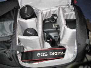 vente Rapide :Camera Canon EOS Rebel 2ti et Accessoires