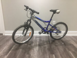 Good Condition Blue Bike
