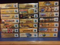 NINTENDO 64 COLLECTION FOR SALE*NEW PRICES*