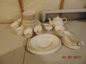 Royal Doulton Dish Set   55 pieces