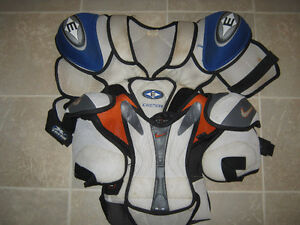 Various HOCKEY equip LOW price$ - Shoulder & Elbow pads, jerseys