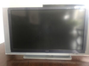 PICK UP ONLY 60 Inch HD TV (NEEDS FIXING)