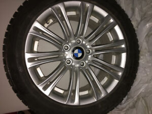 "225-50 R17 TOYO G 3 ICE HIVER (4) MAGS BMW D'ORIGINE 17"" (4)"