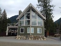 Beautiful house on Kootenay Lake