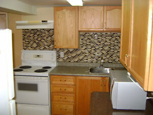 Spacious One Bedroom + Den Basement Apartment for Rent April 1st