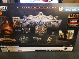Black Ops 4 HUGE Collectors Edition (PS4 NOT INCLUDED)