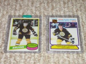 OPC Ray Bourque Rookie Cards