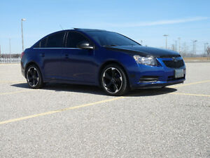 2013 Chevrolet Cruze LT Turbo (Touchscreen + Roof) Low KM
