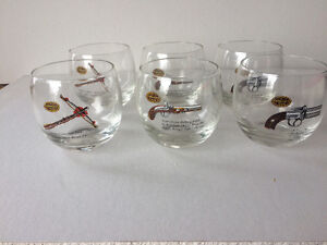 Gun bar glasses. Set of 6 Kawartha Lakes Peterborough Area image 1